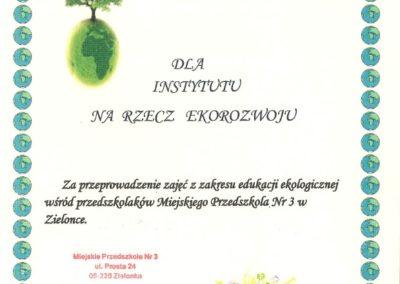 Dyplom nr 1