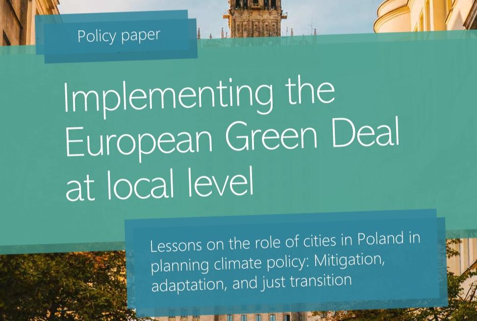 Analiza lokalnej polityki klimatycznej polskich samorządów
